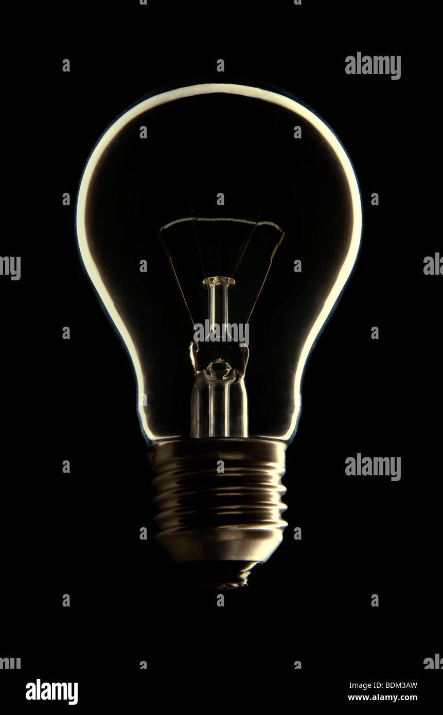 Glühbirne Stockbild