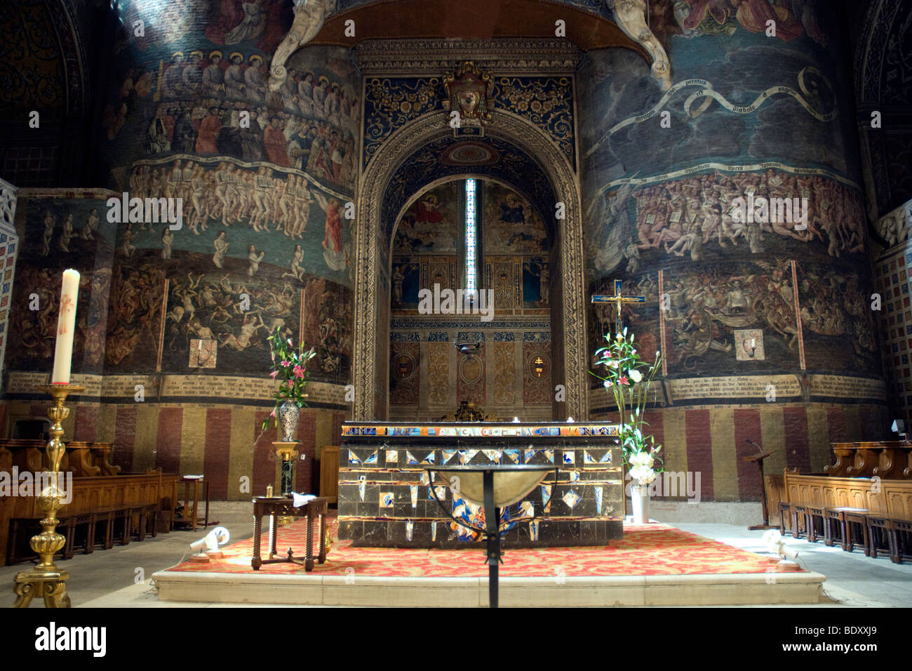 cathedral of sainte cecile stockfotos cathedral of sainte cecile bilder seite 2 alamy. Black Bedroom Furniture Sets. Home Design Ideas