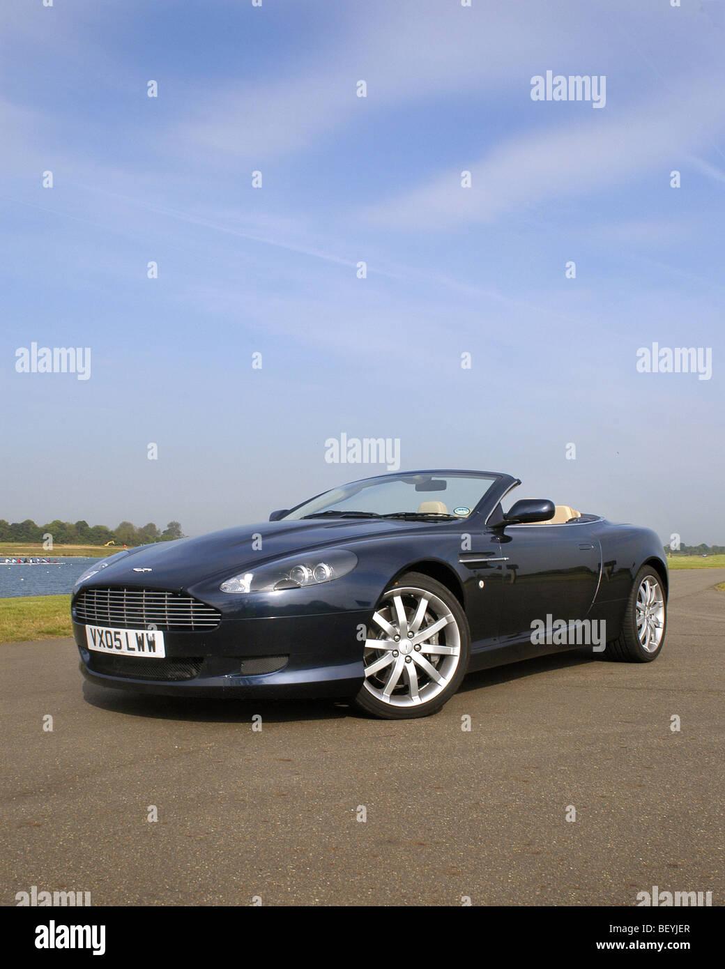 Aston Martin DB9 Volante Stockbild
