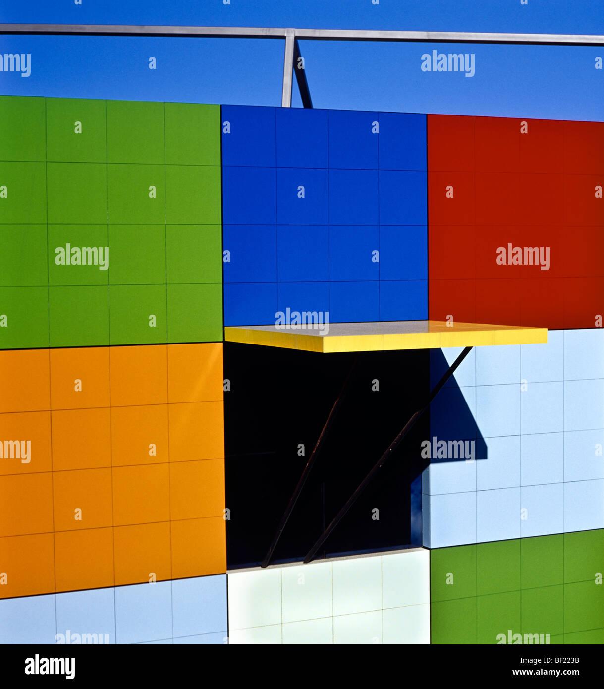 Architekturdetail, Australien Stockbild