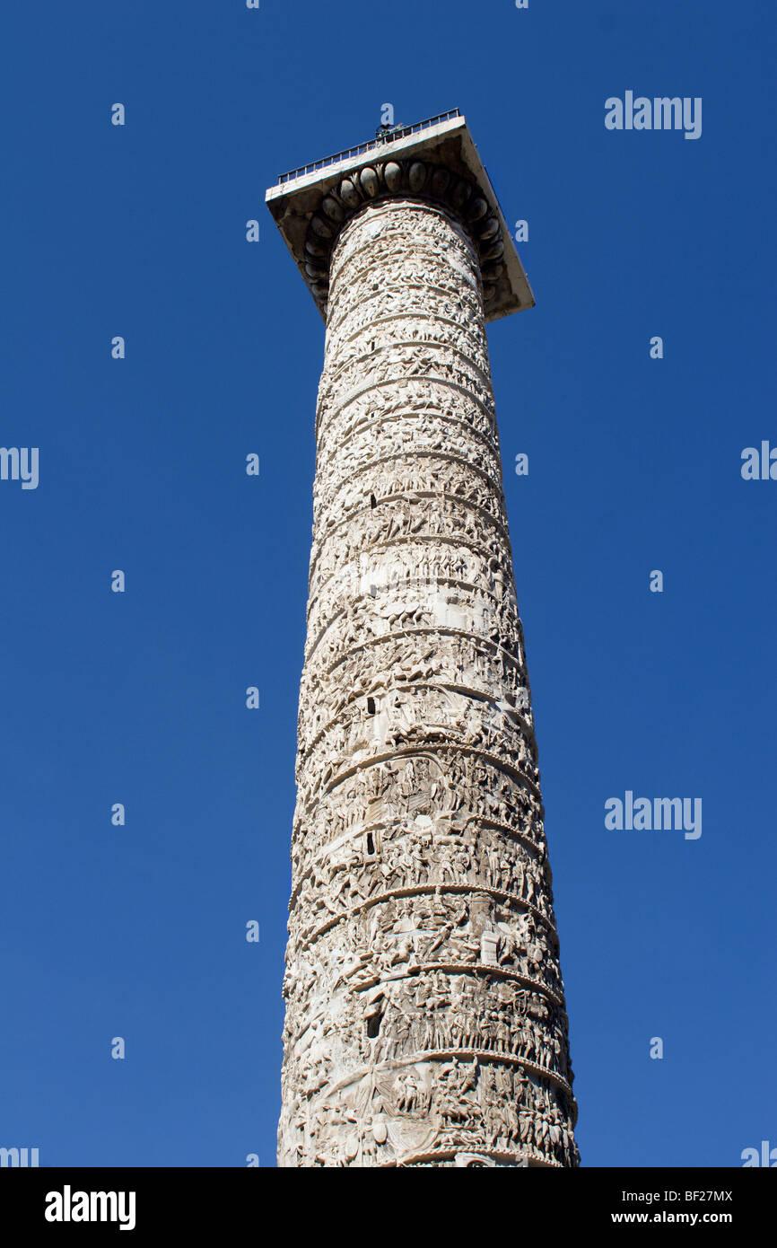 Rom - Trajanssäule Stockbild