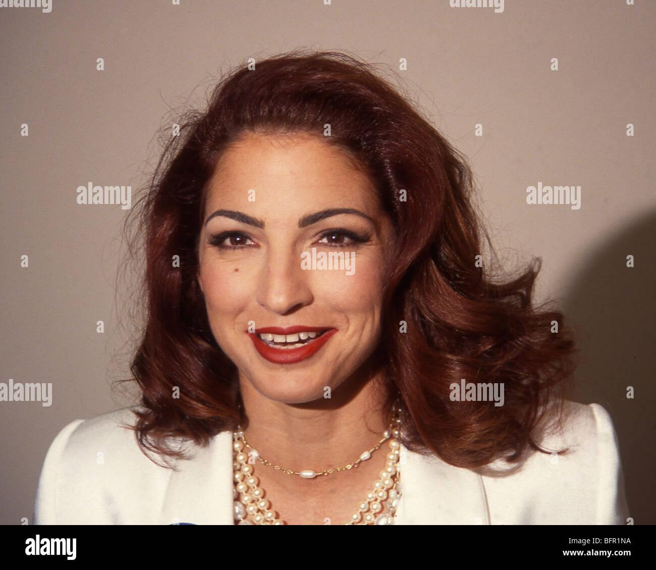 GLORIA ESTEFAN - Latein-amerikanischen Sängerin im Jahr 1993 Stockbild