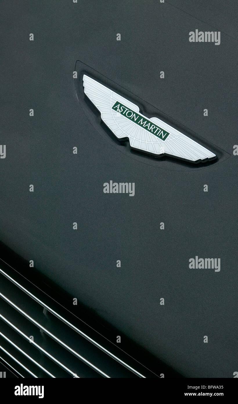 Aston Martin Abzeichen Stockbild