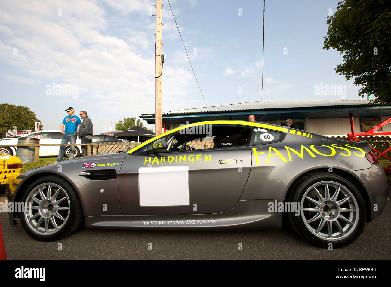 Aston Martin DB9 Rally Car prodrive Stockbild
