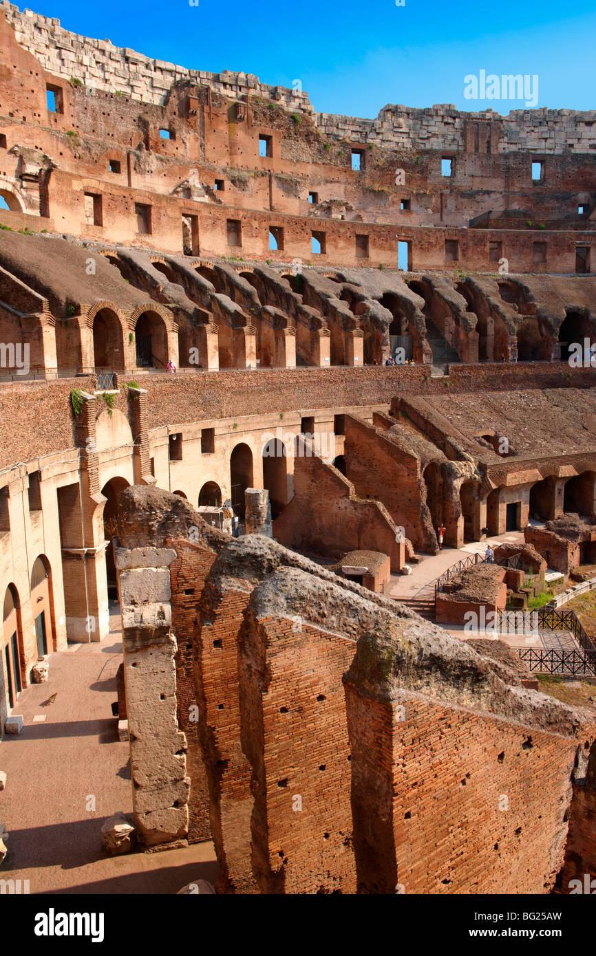 Kolosseum (Colosseo). Rom Stockbild