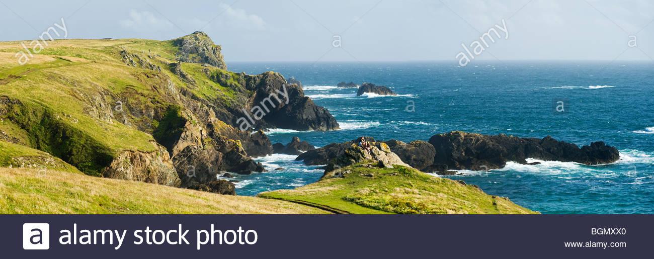 Die Halbinsel Lizard, Cornwall, England. Stockbild