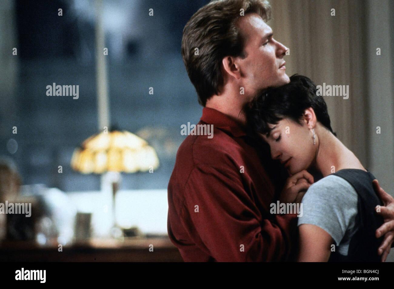 Ghost-Jahr: 1990 Direktor: Jerry Zucker Patrick Swayze, Demi Moore Stockbild