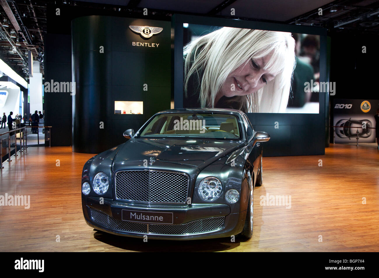 Bentley Mulsanne Stockbild