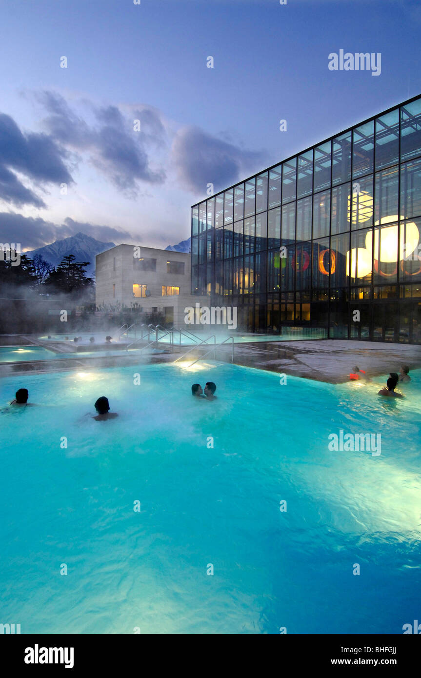 Einzigartig Pool Salzwasser Galerie Von Freibad In Der Therme Meran, Salzwasser-pool Und
