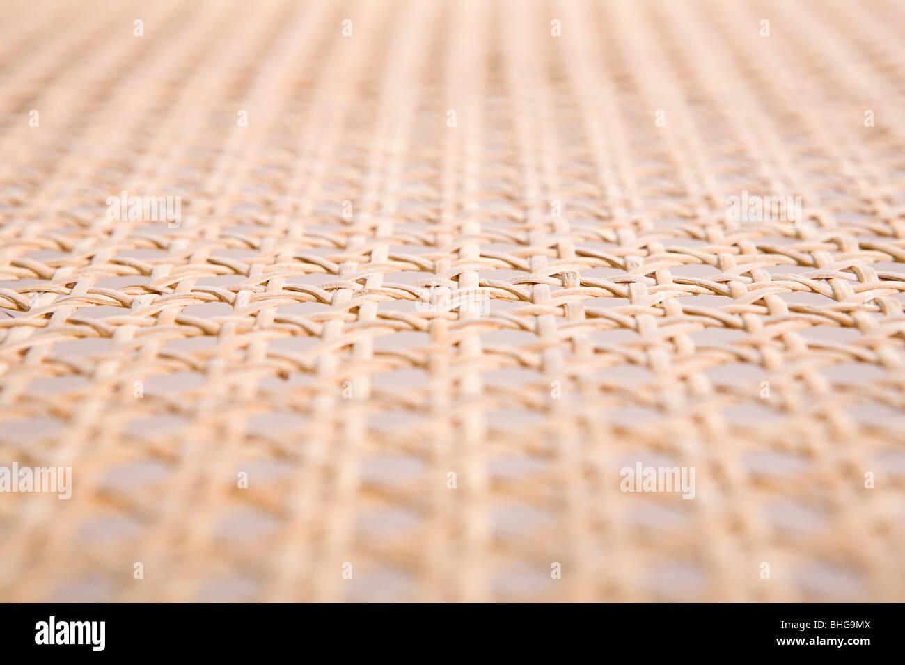 Gewebte Oberfläche Stockbild