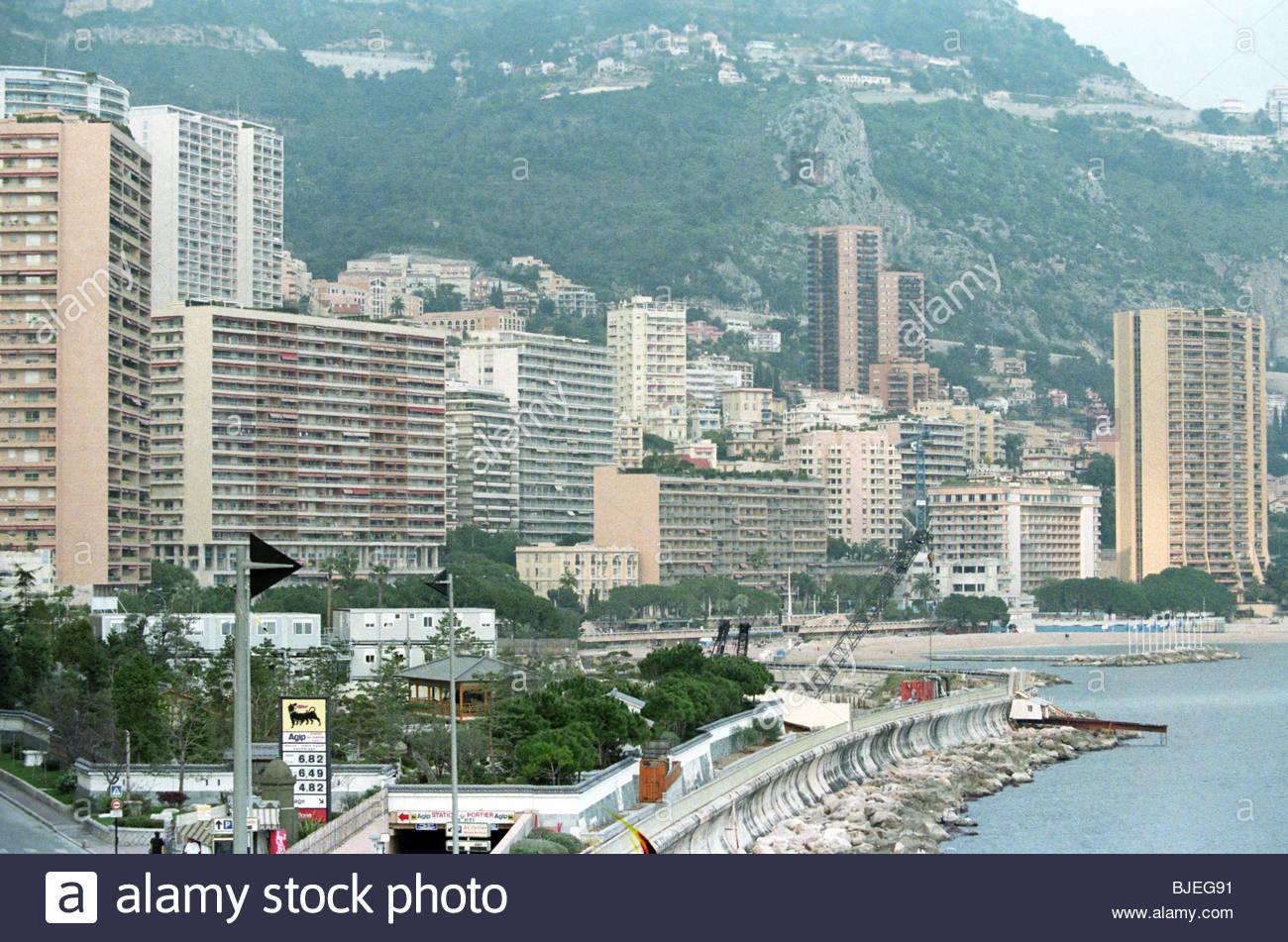 Februar 1997 Monaco. Stockbild