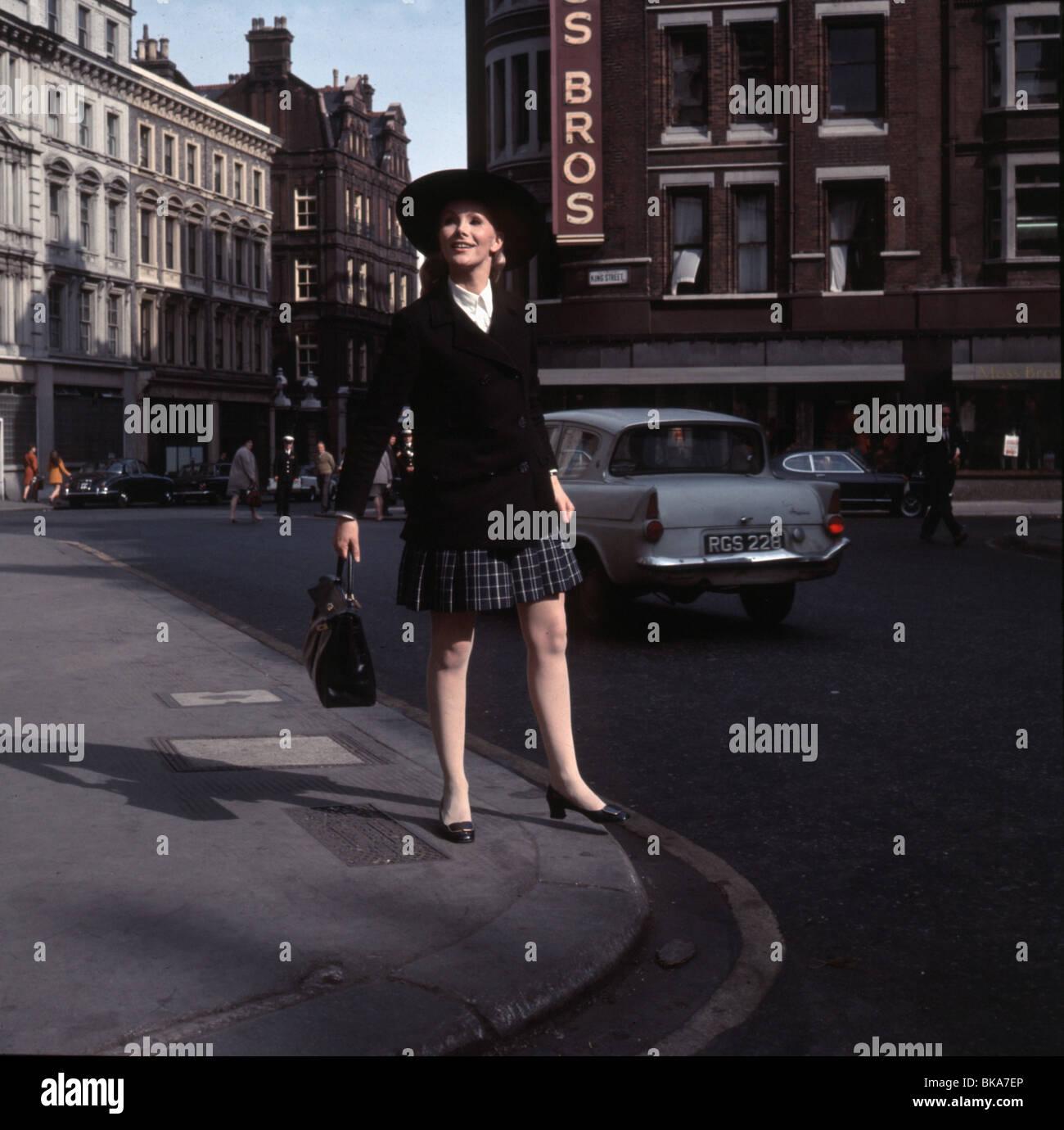 Susan Hampshire, britische Schauspielerin ca. 1965 Stockbild