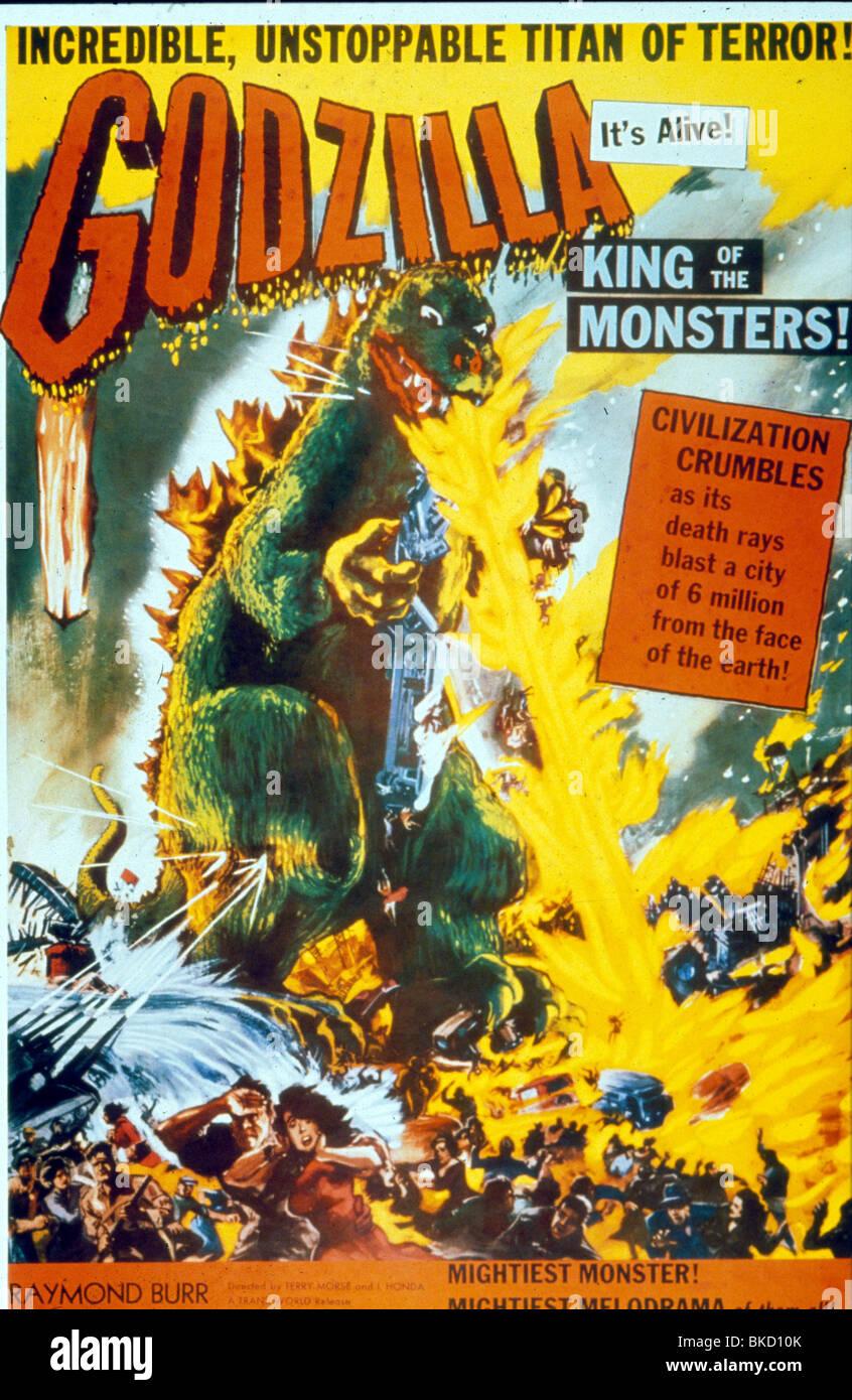 GODZILLA-1955 POSTER Stockbild