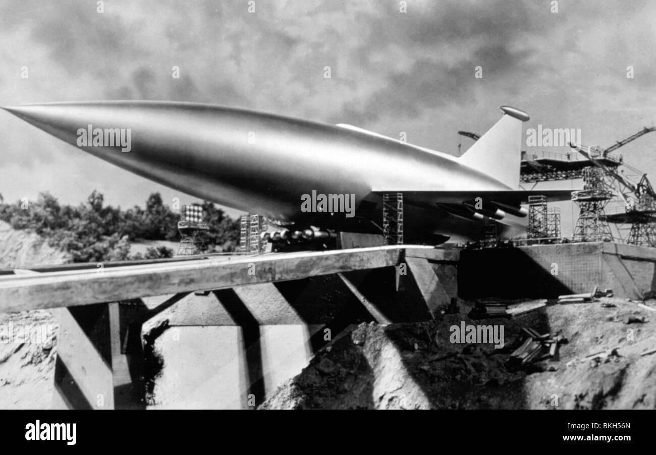 WENN WELTEN AUFEINANDER PRALLEN-1951 Stockbild