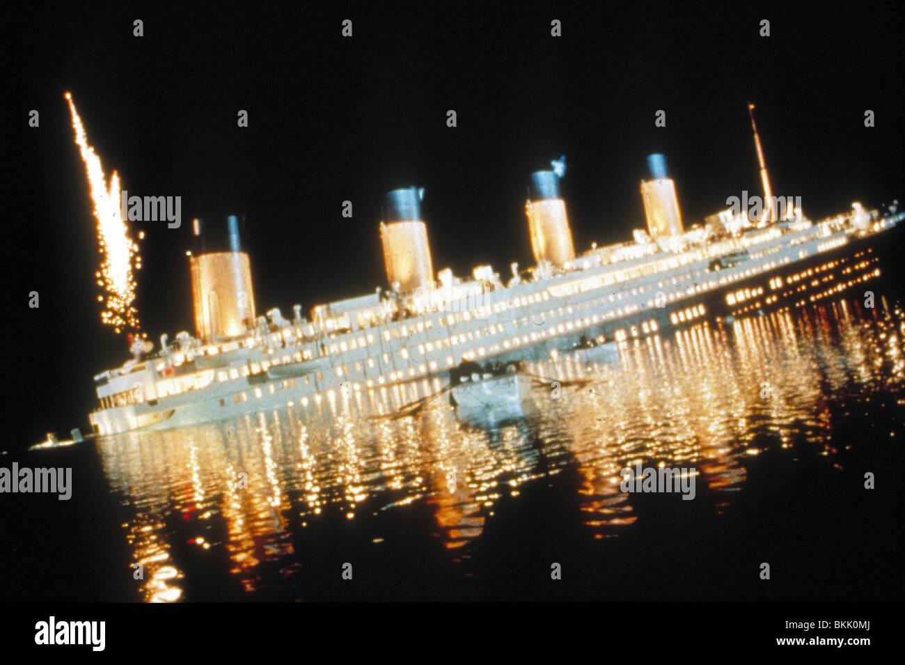 TITANIC-1997 Stockbild