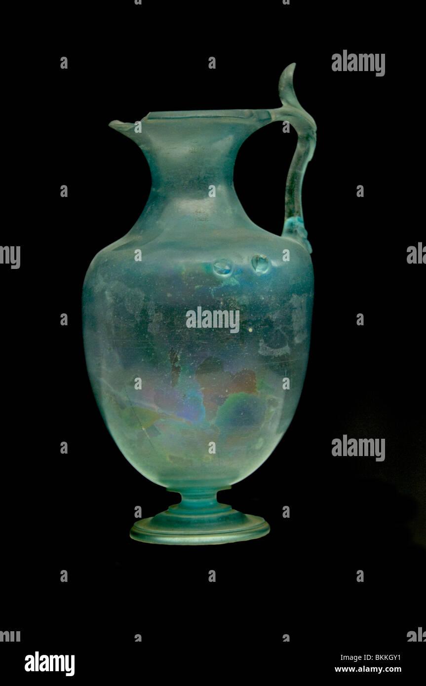 Römische Gläser Glas Vase 100 300 AD Rom Italien Stockbild