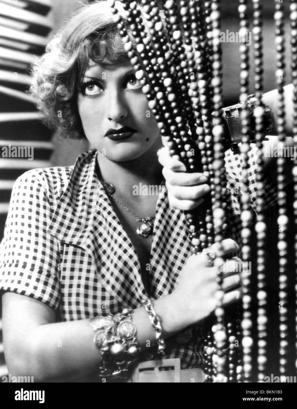 REGEN-1932 JOAN CRAWFORD Stockbild