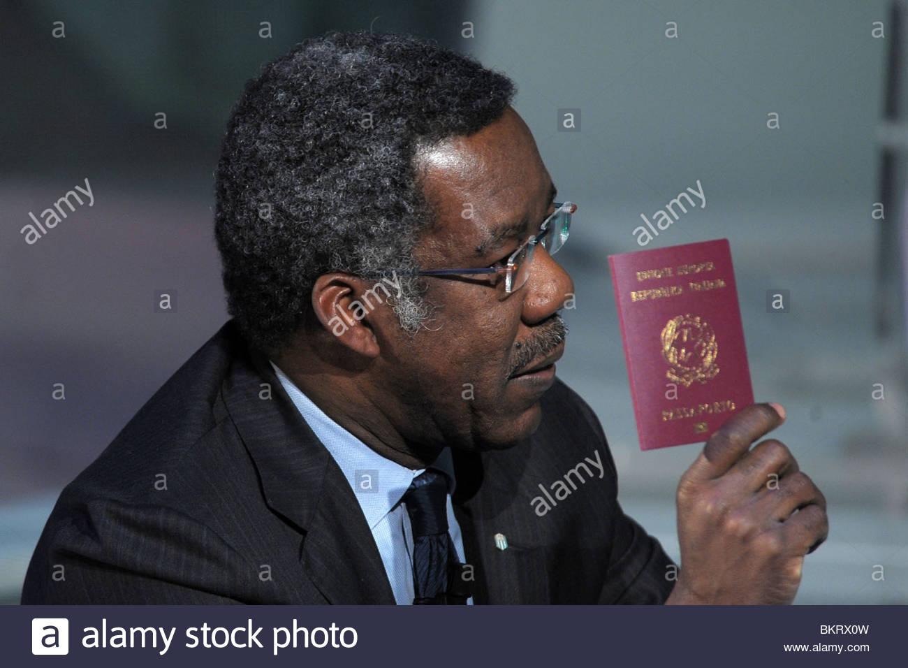 Fidel Mbanga bauna Stockbild