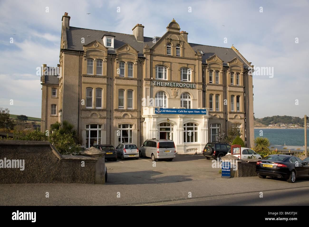 Das Metropole Hotel in Padstow, Cornwall, England Stockbild