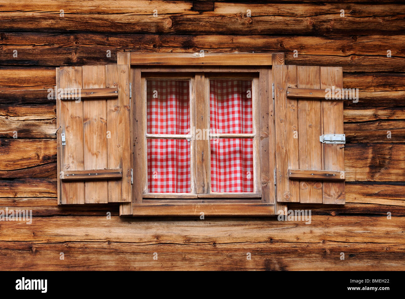 Europa, Österreich, Ansicht des Fensters Stockbild