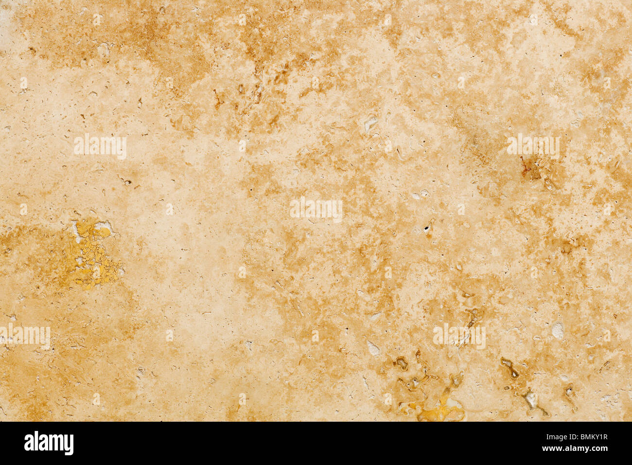 Travertin Steinboden Fliesen abstrakten Hintergrund Closeup Stockbild