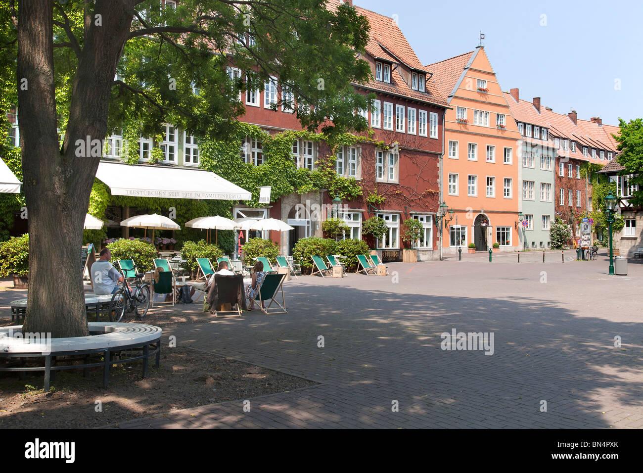 Altstadt, Ballhof, Hannover, Niedersachsen, Deutschland Stockbild