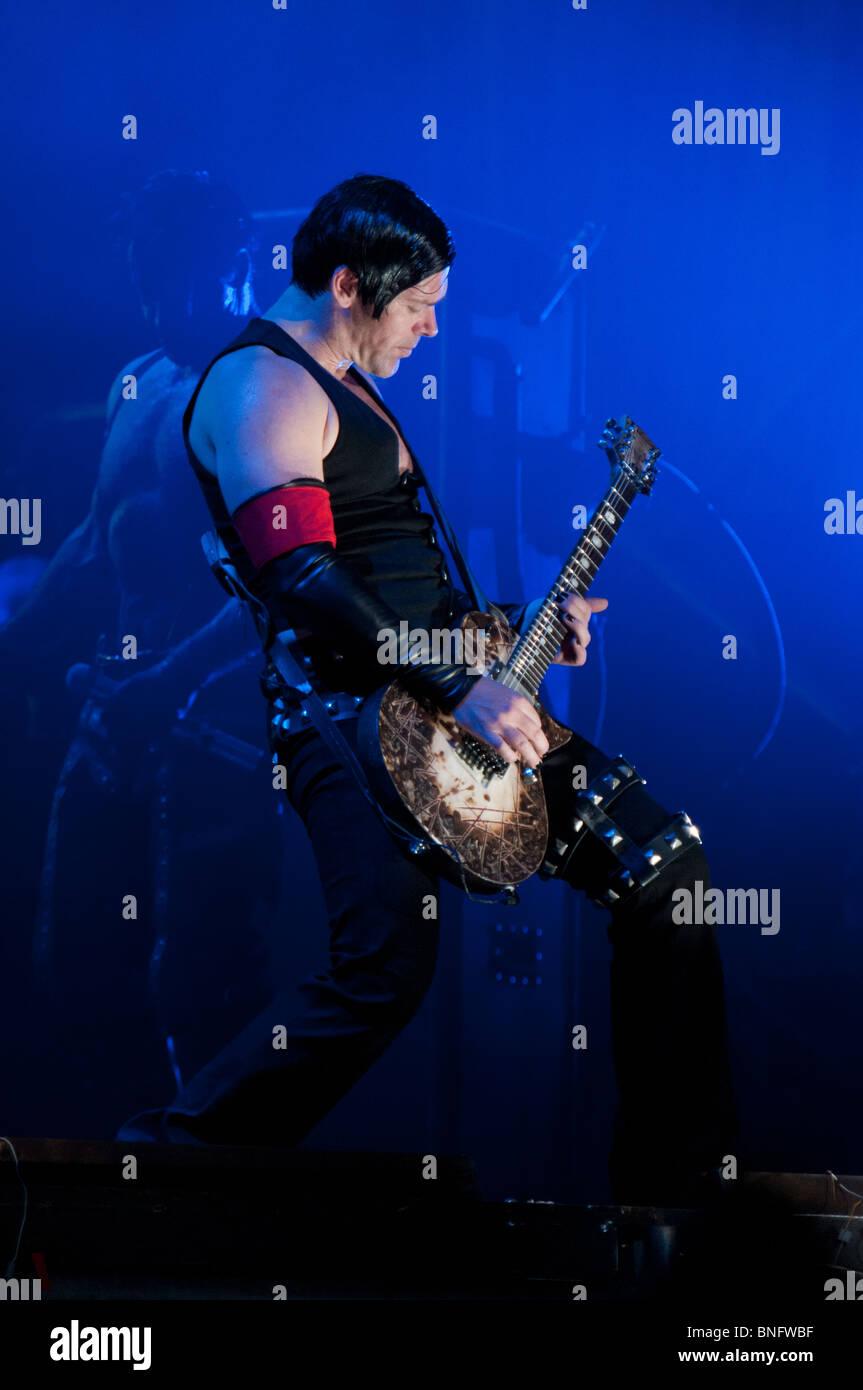 Richard Kruspe, Rammstein Gitarrist Stockbild