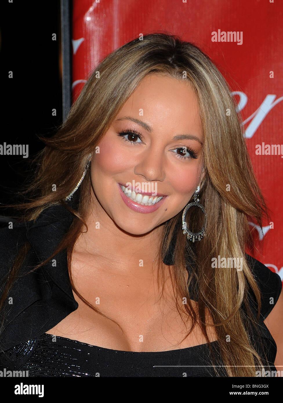 MARIAH CAREY - US-Sängerin im Januar 2010 Stockbild