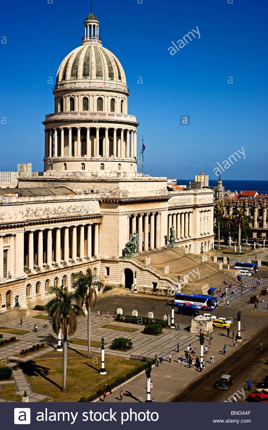Capitolio Nacional, Havanna, Kuba Stockbild