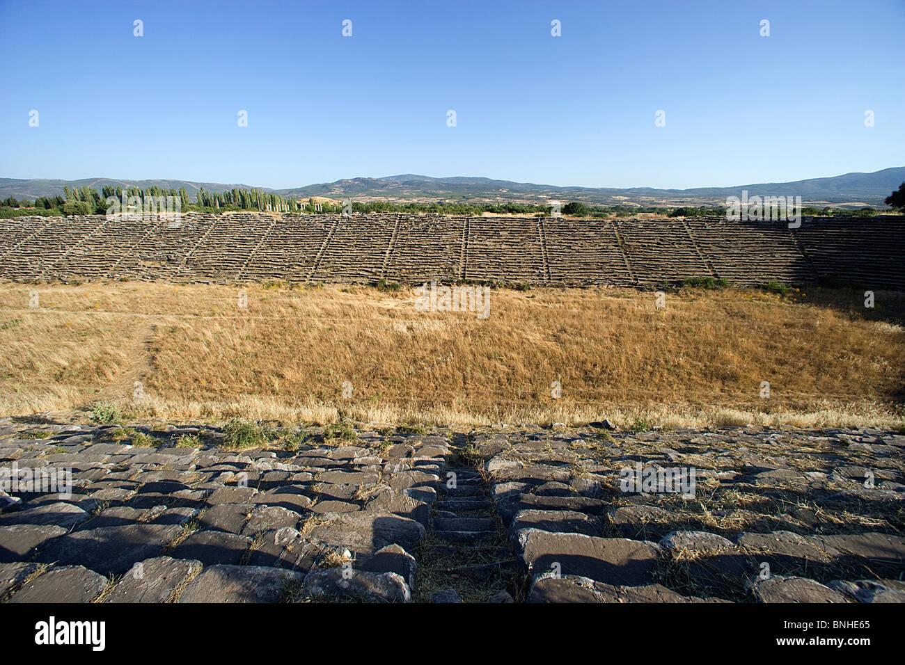 Türkei Juni 2008 Aphrodisias antiken Stadt antiken Stätte historische Ruine Ruinen hellenistischen römische Stockbild