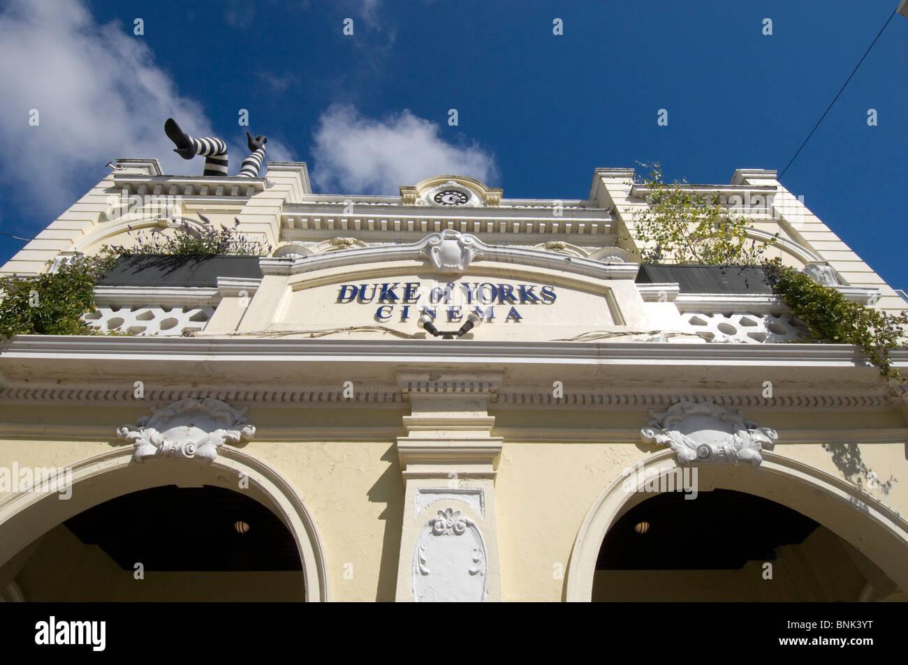 Herzog von Yorks Kino in Brighton, UK. Es feierte sein hundertjähriges Bestehen am 22. September 2010 damit Stockbild