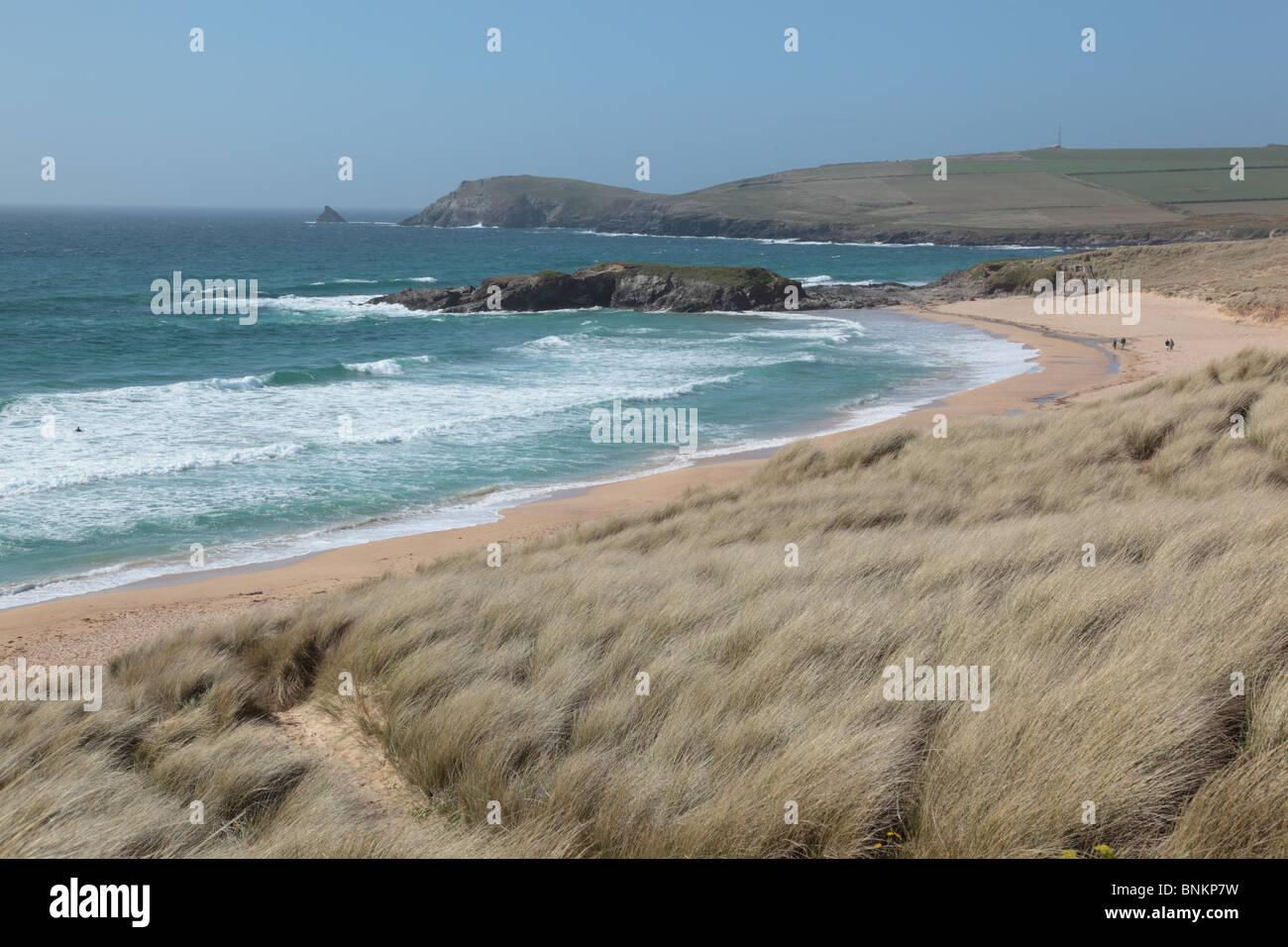 Weißabgleich Tageslicht 5200K; Konstantin Bay; Cornwall Stockbild