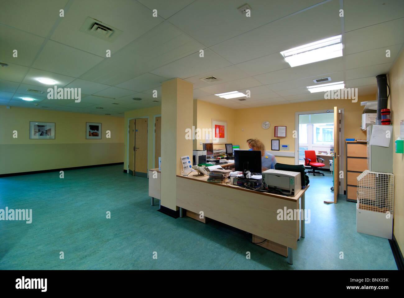 Chichester Spitalabteilung Entbindungsstation Tangmere Stockbild