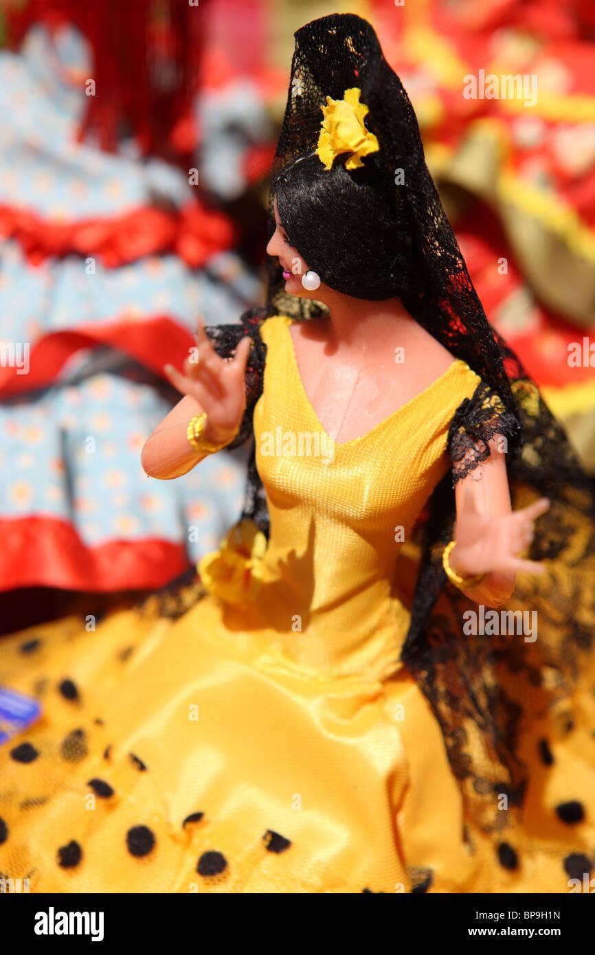 Flamenco-Puppe Stockbild