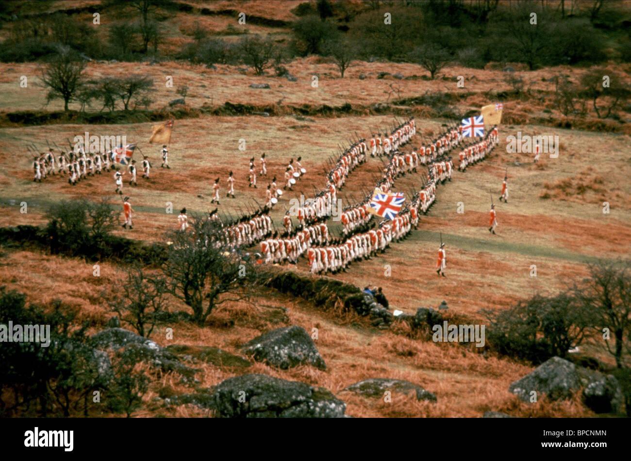 BRITISCHE SOLDATEN REVOLUTION (1985) Stockbild