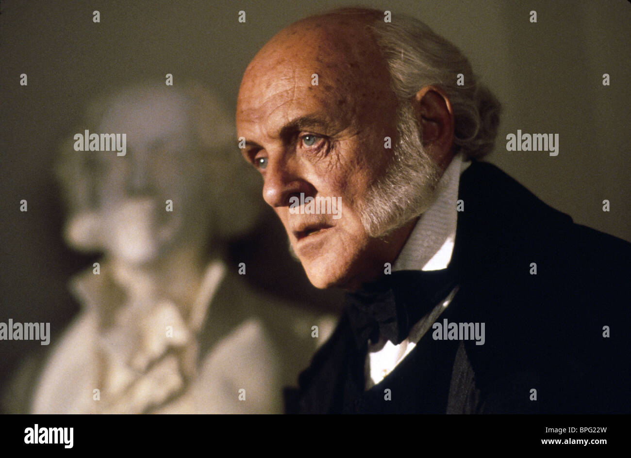 ANTHONY HOPKINS AMISTAD (1997) Stockbild