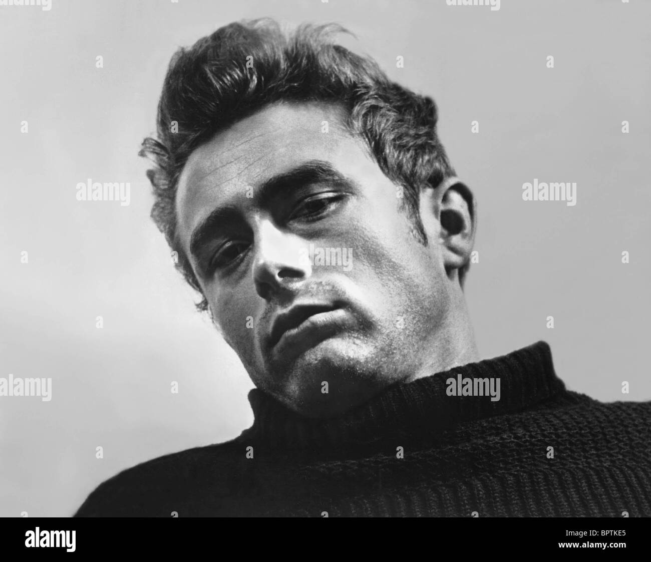 SCHAUSPIELER JAMES DEAN (1955) Stockbild