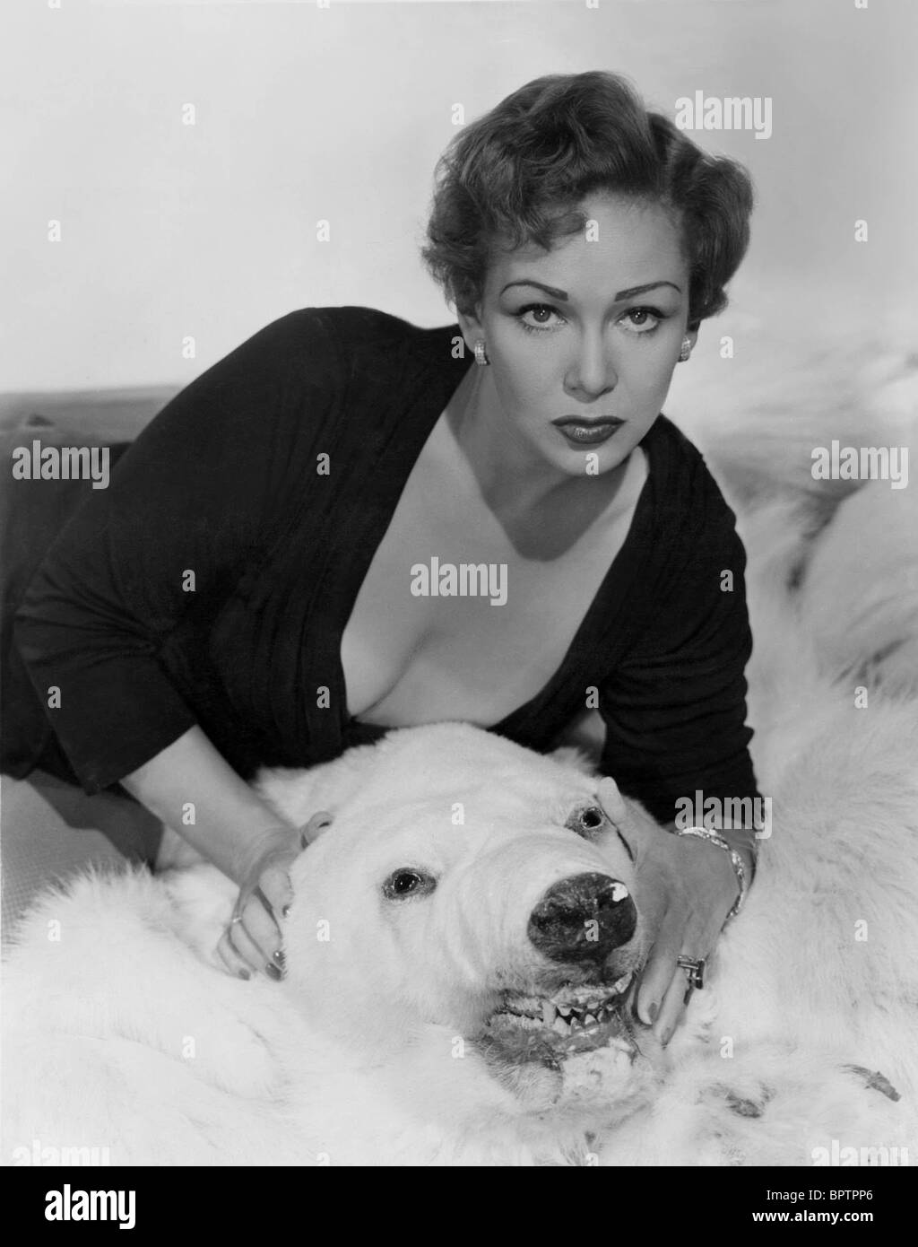 JEAN KENT SCHAUSPIELERIN (1955) Stockbild