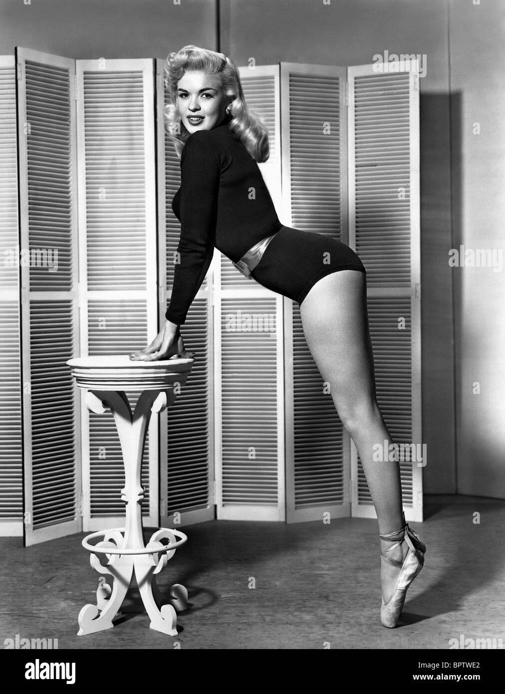 JAYNE MANSFIELD SCHAUSPIELERIN (1955) Stockbild