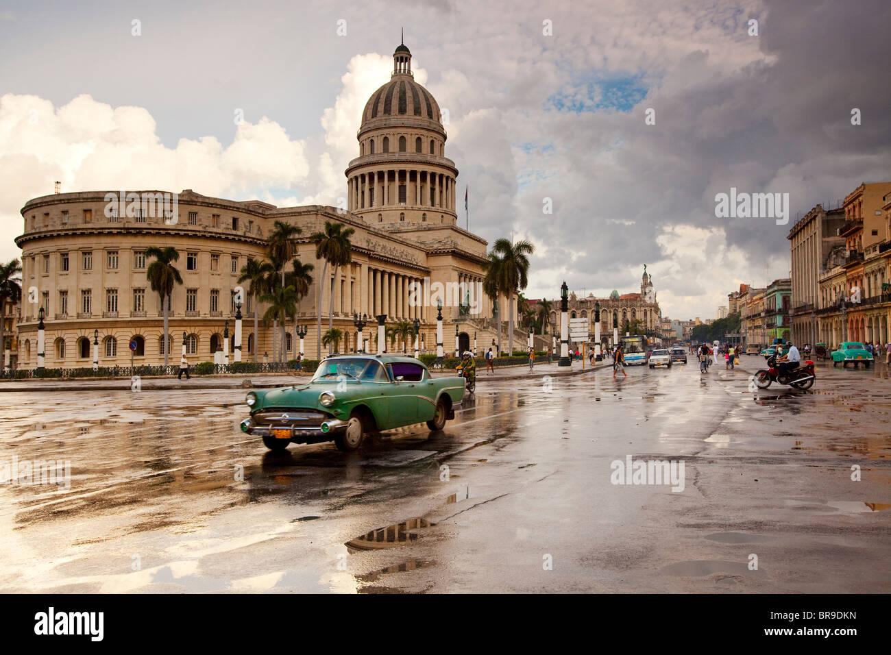 Kapital Gebäude in Havanna, Kuba. Stockbild
