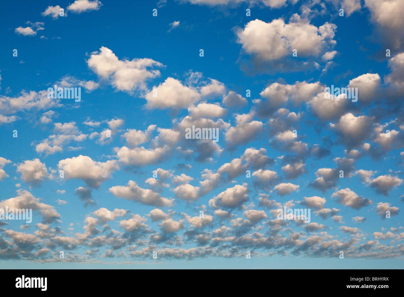 Wolken Himmel Stockbild