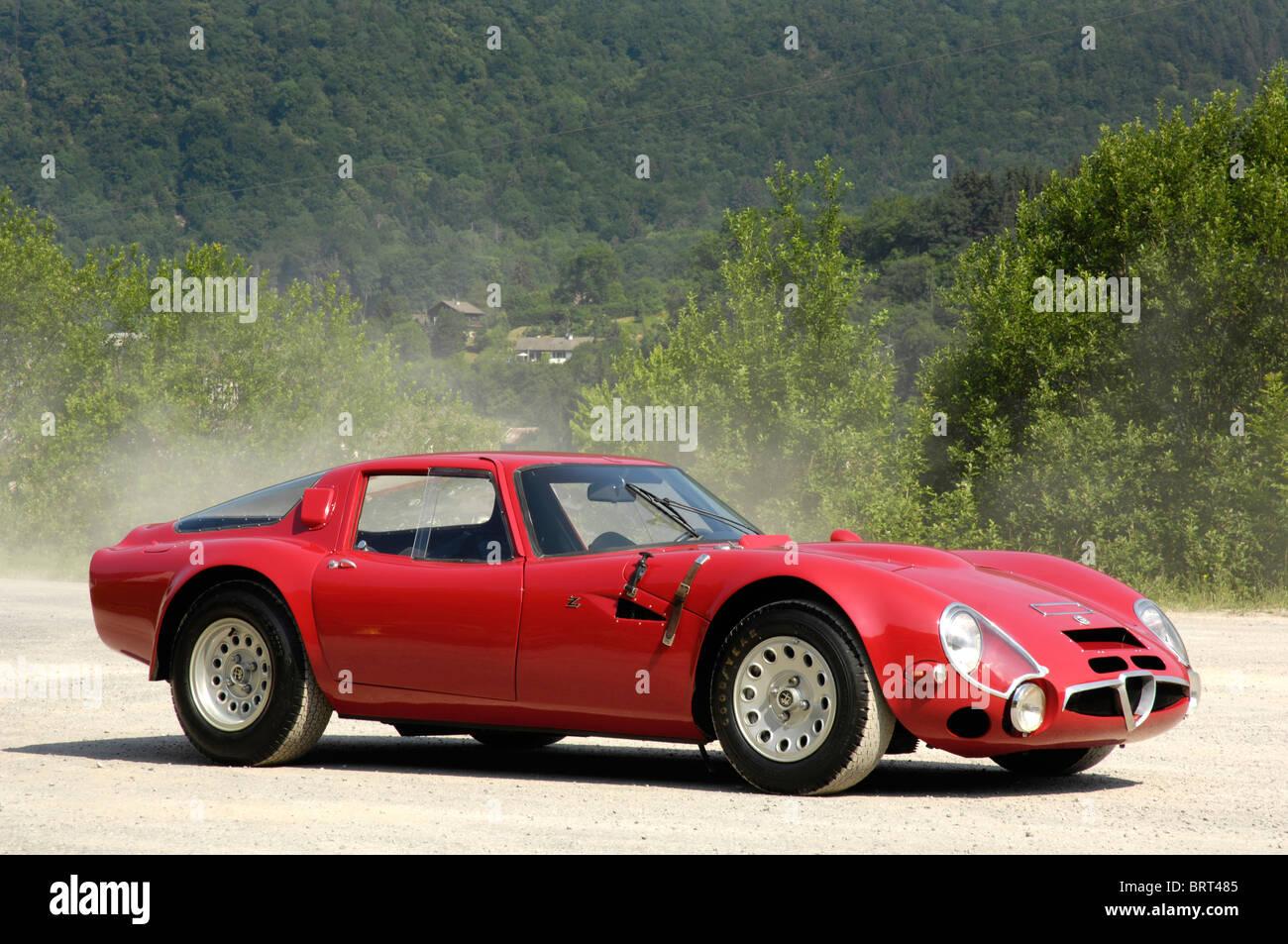 Alfa Romeo TZ2 1966 Stockbild
