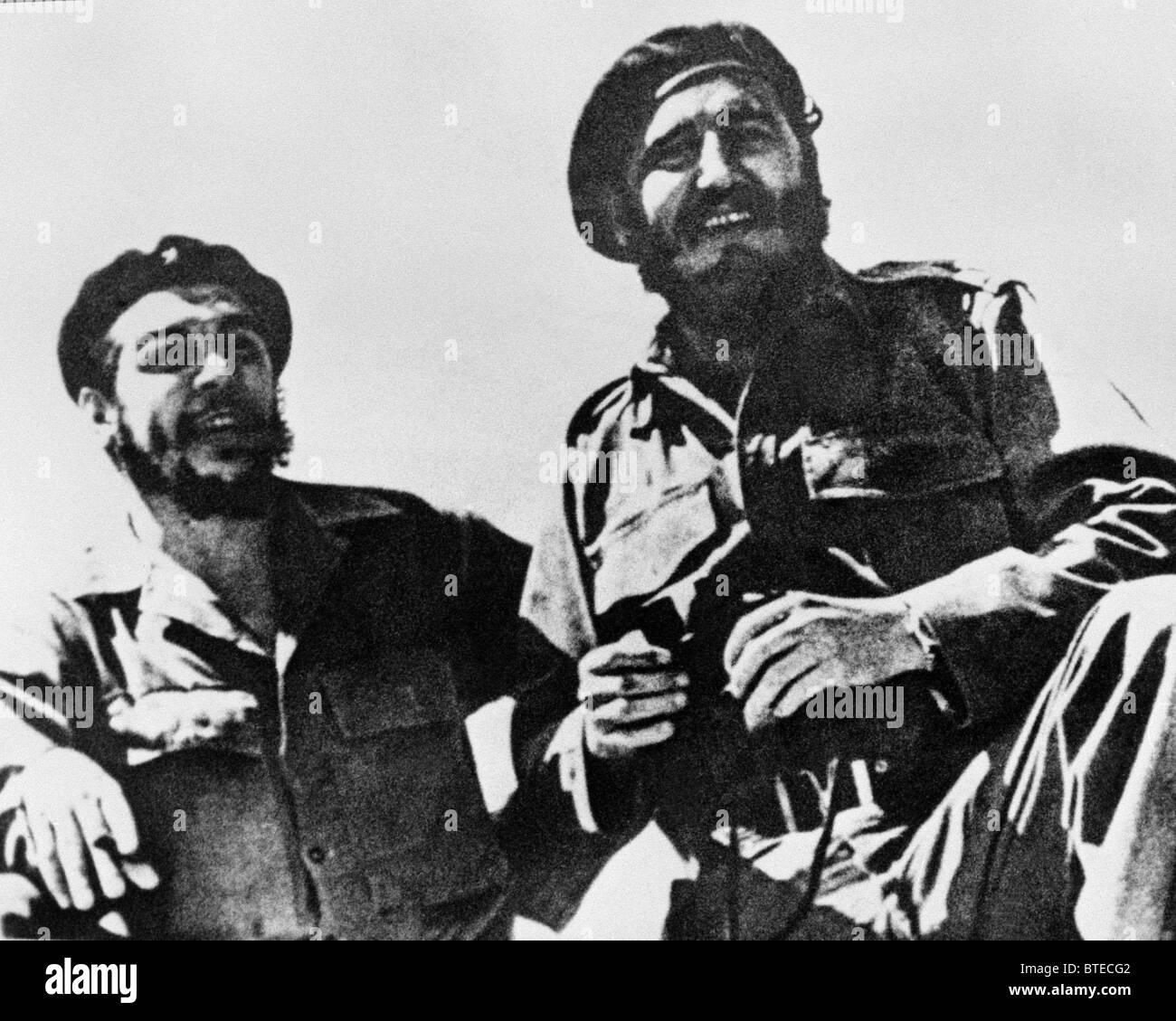 Fidel Castro und Che Guevara Stockfoto