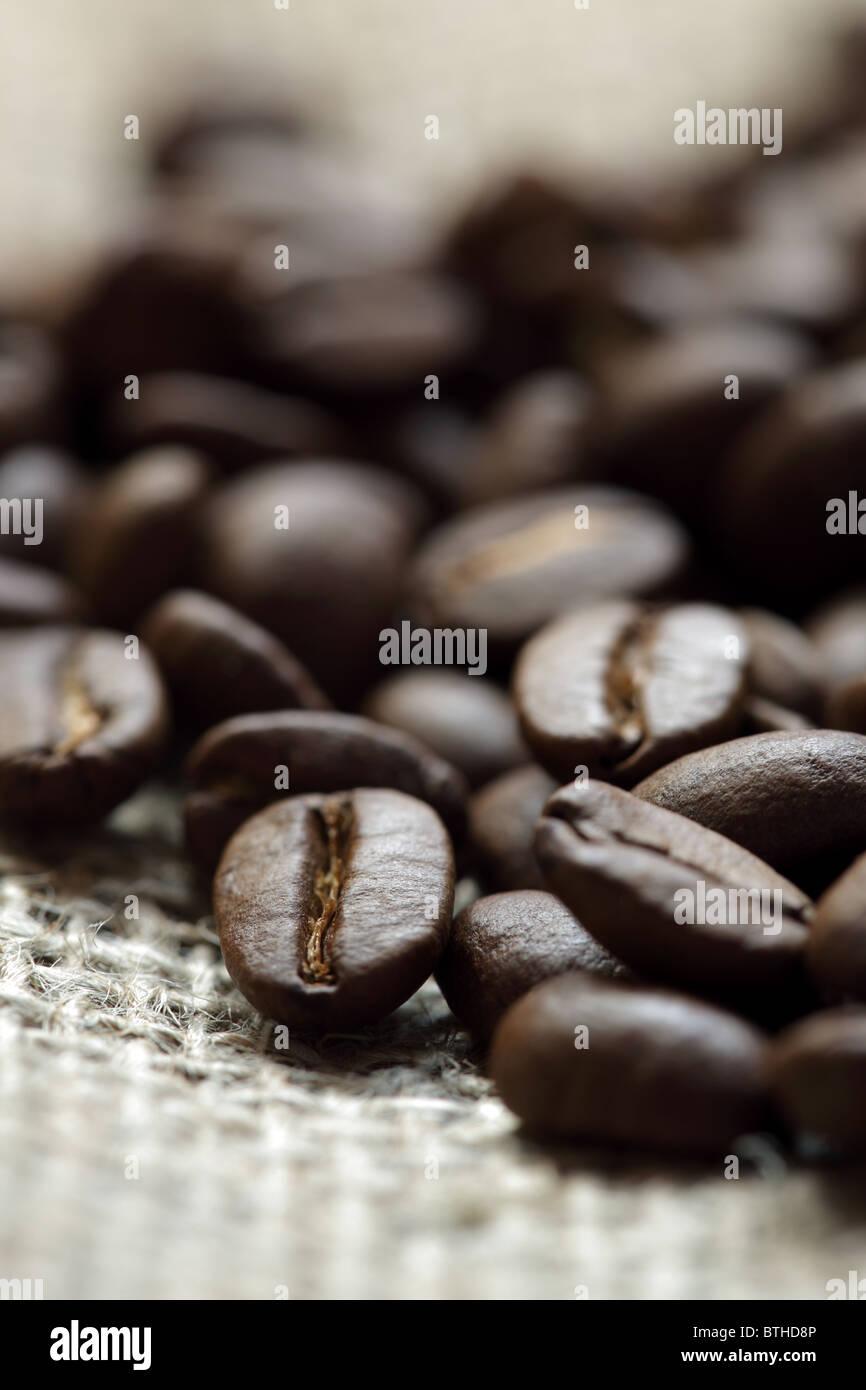 Kaffee Bohnen Stockfoto