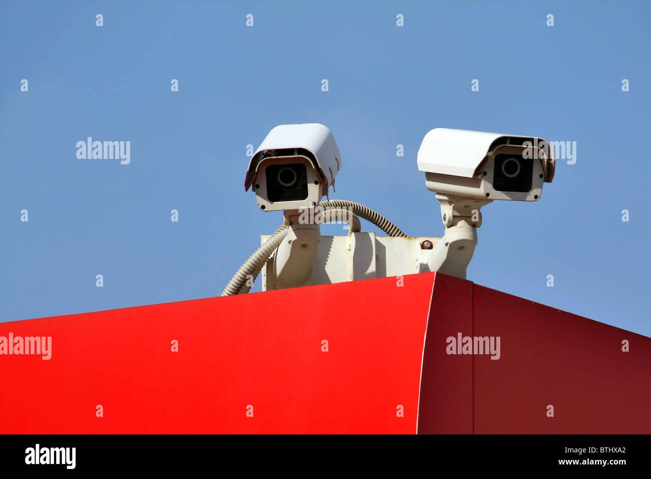 Sicherheit Kamera Stockbild