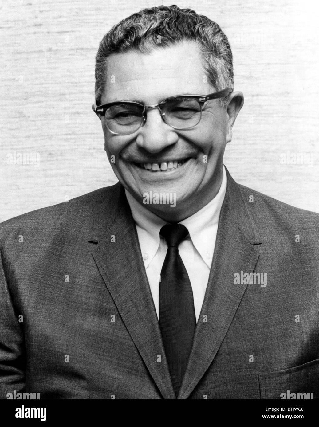 Vince Lombardi, (1913-1970), General Manager von den Green Bay Packers und einer der erfolgreichsten Cheftrainer Stockbild