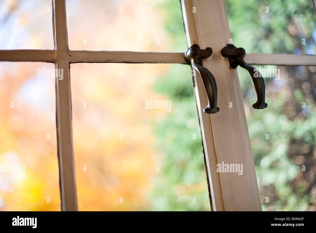 Antike Fenster Stockbild