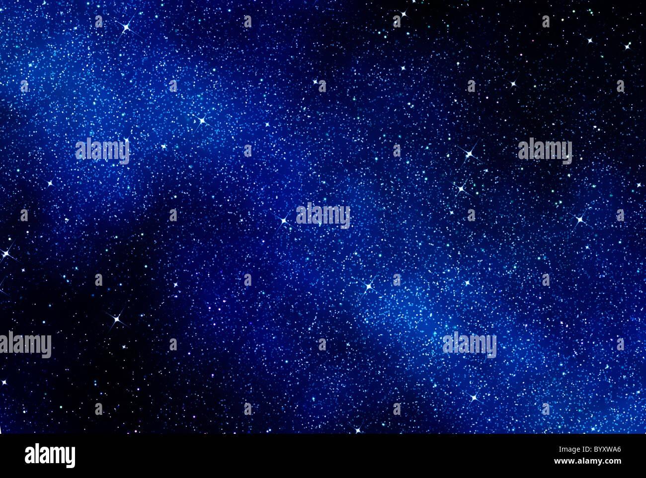 tolles Bild von Raum oder ein Sternenhimmel Stockbild