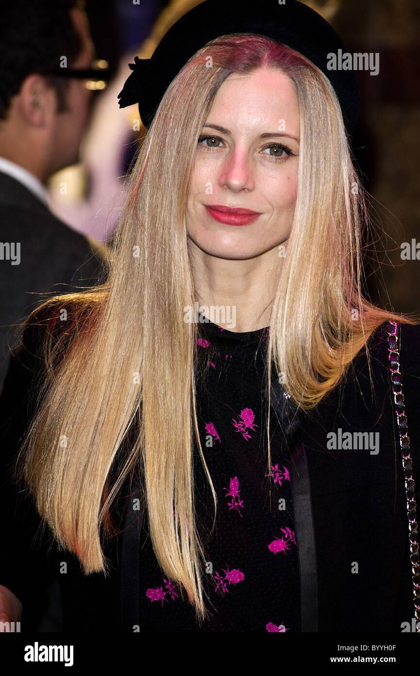 "Laura Bailey besucht die Weltpremiere von ""Paul"" The Empire, Leicester Square, London, 7. Februar 2011. Stockbild"