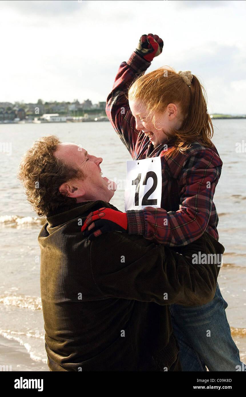 COLM MEANEY & NIAMH MCGIRR DAS RENNEN (2009) Stockbild